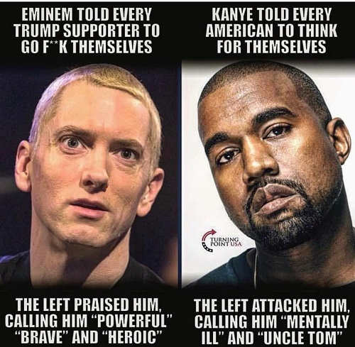 eminem-vs-kanye-west-left-reaction-uncle-tom-mentally-ill