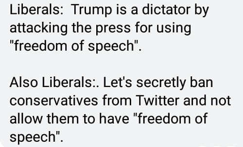 liberals-trump-attacking-press-freedom-of-speech-ban-conservatives-social-media