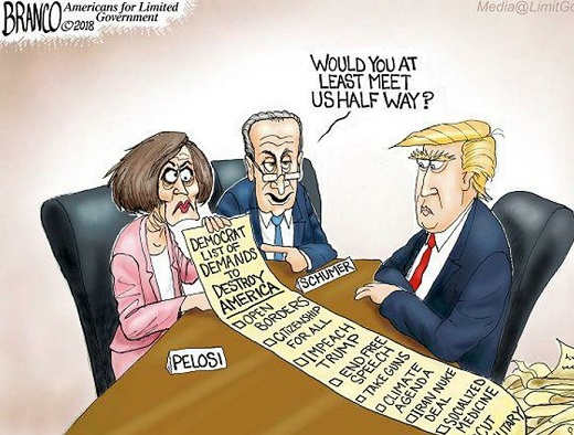 pelosi-schumer-list-of-demands-to-trump-open-boarders-socialized-medicine