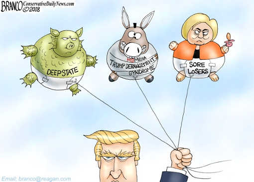 trump-baloons-hillary-deep-state-mainstream-media-derangement-syndrome