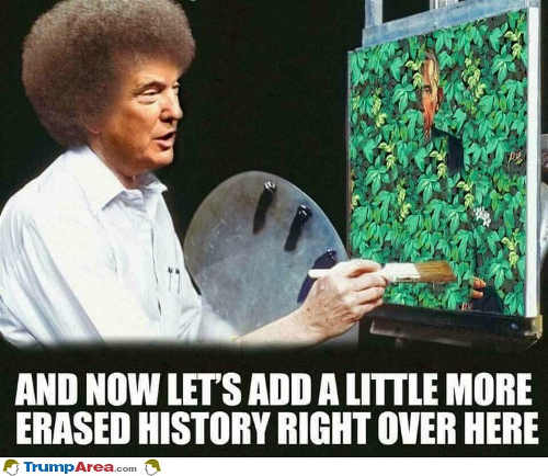 trump-obama-painter-lets-add-more-erased-history-right-over-here