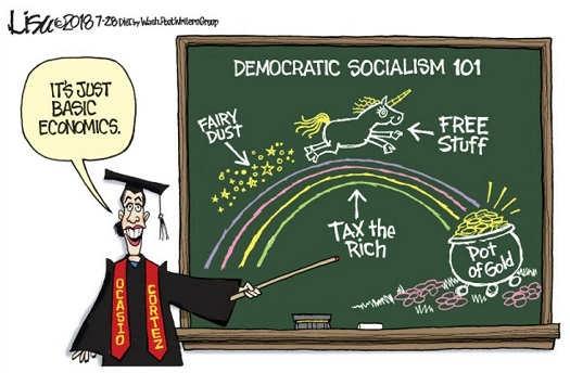 basic-economics-democratic-socialism-fairy-dust-tax-rich-pot-of-gold