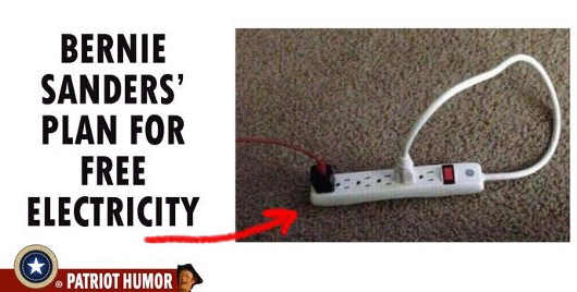bernie-sanders-plan-for-free-electricity-power-strip-plugged-to-self