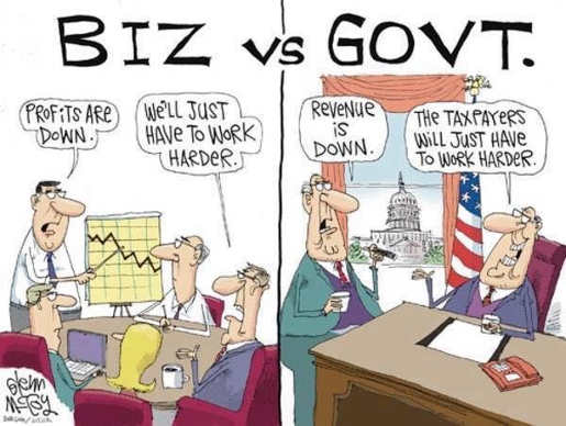 business-vs-government-bad-project-work-hard-to-improve-vs-taxpayers-must-work-harder