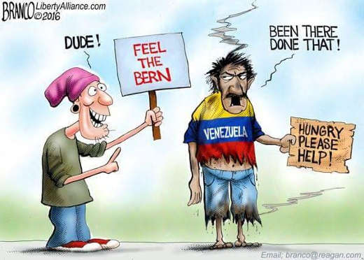 dude-feel-the-bern-venezuela-been-there-done-that bernie sanders