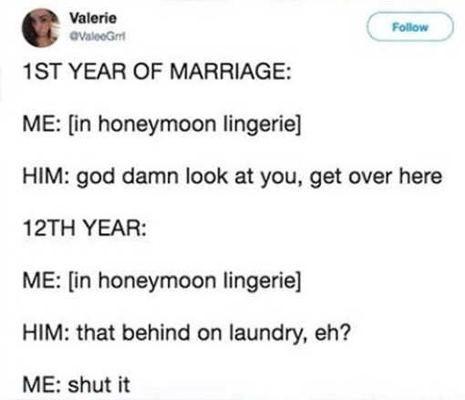 marriage-tweet-honeymoon-lingerie-behind-on-laundry