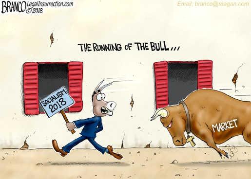 running-of-the-bull-democrats-socialism