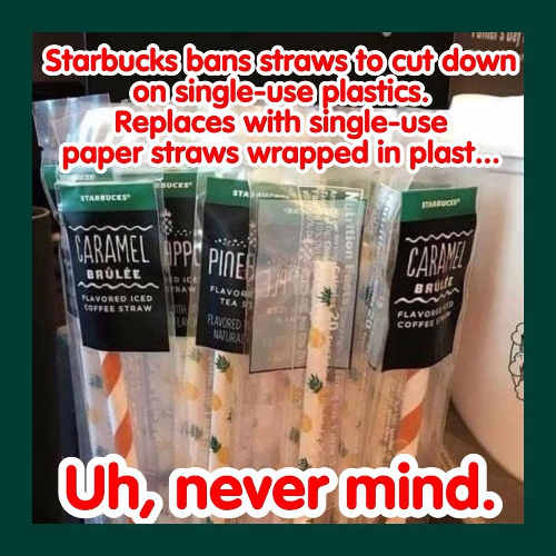 starbucks-ban-straws-cut-down-plastic-replaces-with-plastic-wrapped-straws-singles