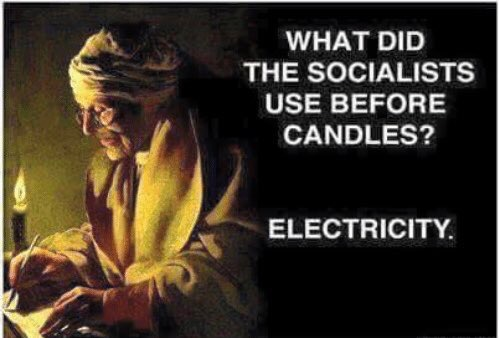 what-did-socialists-use-before-candles-electricity