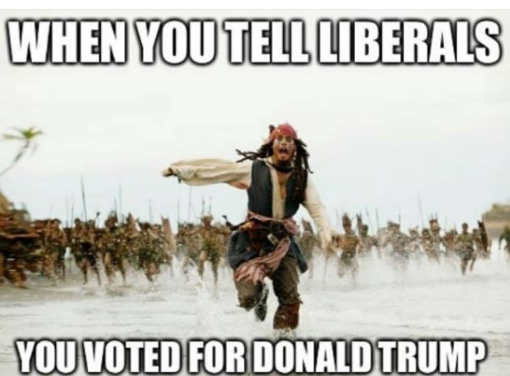 when-you-tell-liberals-you-voted-for-donald-trump-jack-sparrow-running
