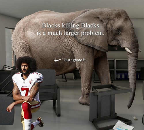 colin-kaepernick-elephant-blacks-killed-by-blacks-bigger-problem-just-ignore-it