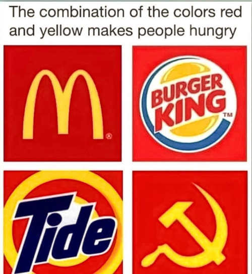 color-red-yellow-makes-people-hungry-mcdonalds-tide-burger-king-communism-hammer-sickle