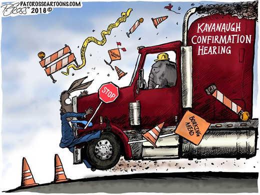 kavanaugh-normination-borking-ahead-democrats-truck