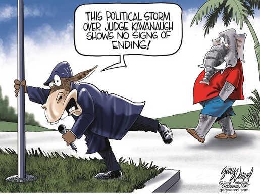 kavanaugh-political-storm-shows-no-signs-of-ending-democrat-journalist-fake-weather