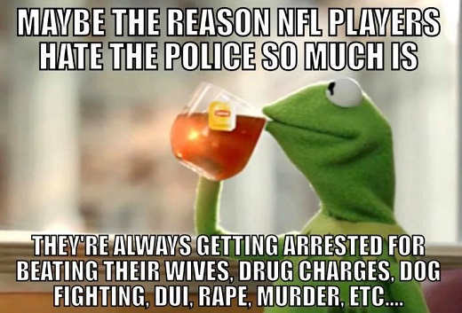 maybe-reason-nfl-players-hate-police-they-get-arrested-for-beating-wives-drugs-dui-dog-fighting-rape