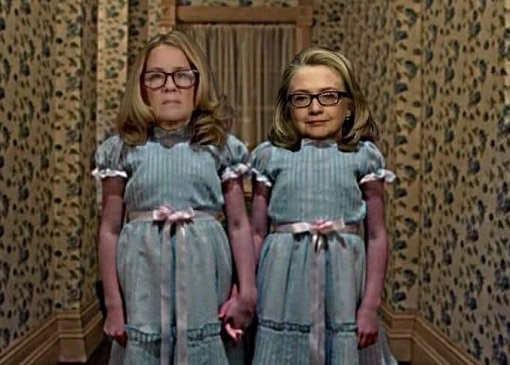 halloween-christine-blasey-ford-hillary-clinton-twin-girls-shining