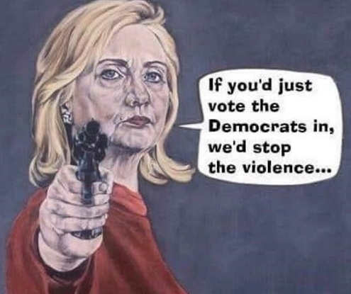 hillary-clinton-if-you-vote-democrats-in-we-will-stop-the-violence-gun