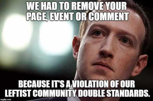 mark-zuckerberg-facebook-had-to-remove-post-violated-leftist-community-double-standards