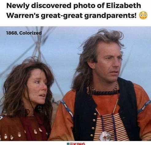 newly-discovered-photo-of-elizabeth-warrens-great-great-grandparents-kevin-costner-dances-with-wolves