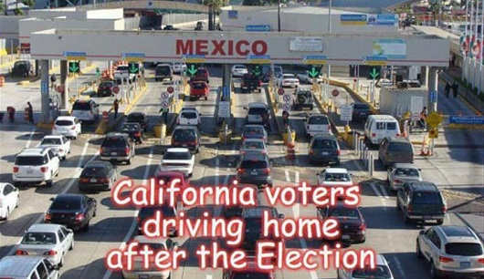 california-voters-driving-home-after-election-mexico