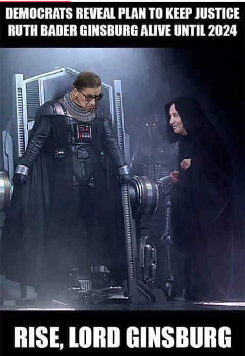 democrats-reveal-plan-to-keep-justice-ruth-ginsberg-alive-darth-vader-chuck-schumer