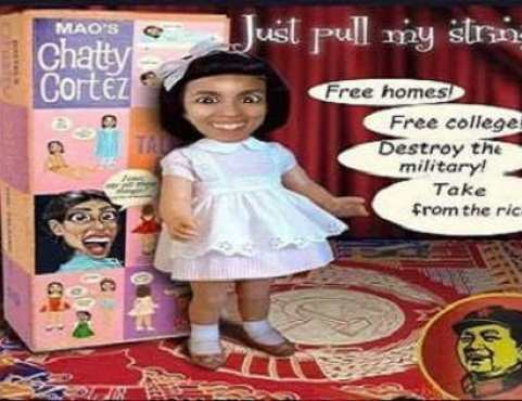 pull-my-strings ocasio cortez free housing destroy military socialism