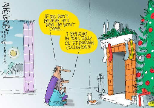 you have to believe santa russian collusion