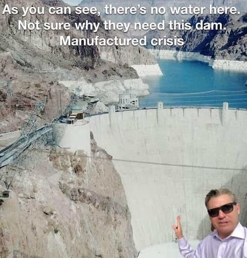 jim acosta as you can see theres no water here not sure why they need this dam manufactured crisis