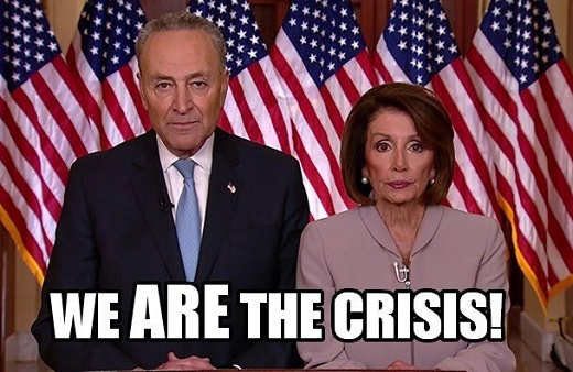 nancy pelosi chuck schumer we are the crisis