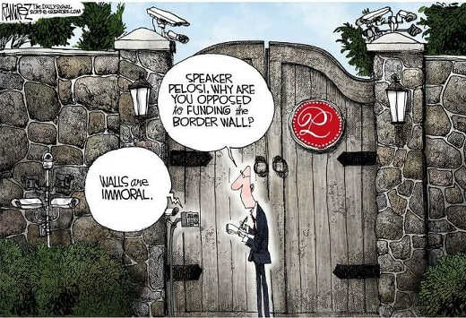 pelosi why are you opposed to wall they are immoral
