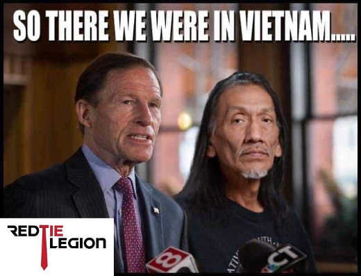 so there we were in vietname richard blumenthal nathan indian