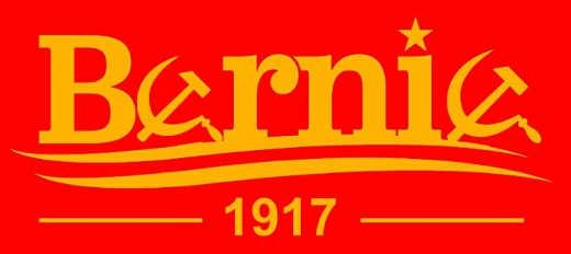 bernie campaign sticker soviet 1917 revolution