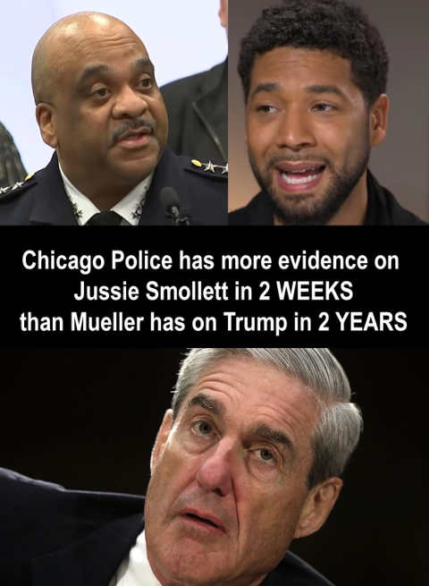 chicago police more evidence on smollett 2 weeks mueller 2 years