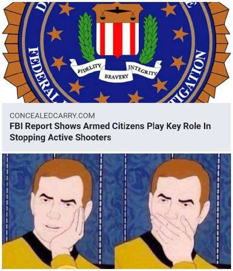fbi report shows armed citizens play key role stopping active shooters