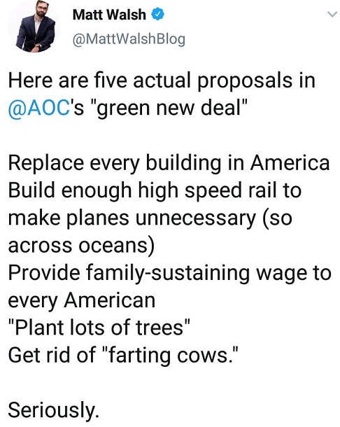 ocasio cortez green new deal proposals replace buildings air travel wages for every american