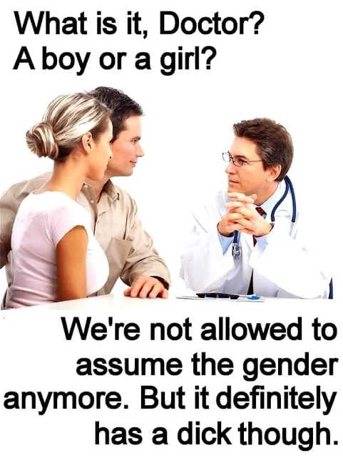 what is it doctor boy or girl we cant assume gender definitely has dick though