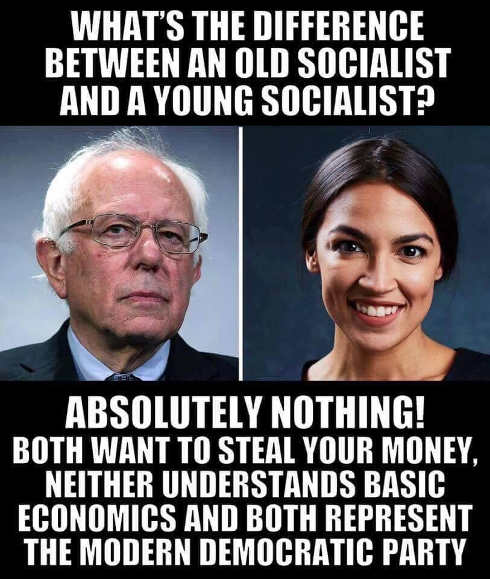 whats difference between old new socialists nothing bernie sanders ocasio cortez