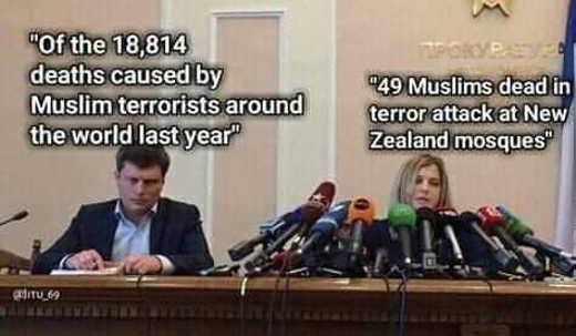 comparison 18000 muslim terrorist actions 1 christian microphones