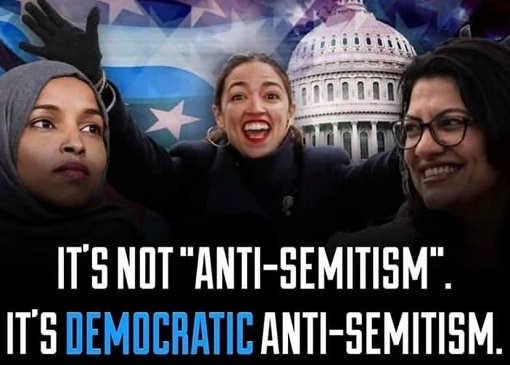 its not anti semitism its democratic anti semitism omar ocasio cortez