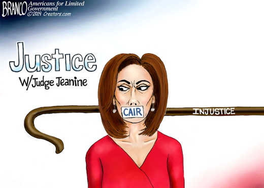 justice jeanine silenced by cair injustice silencing