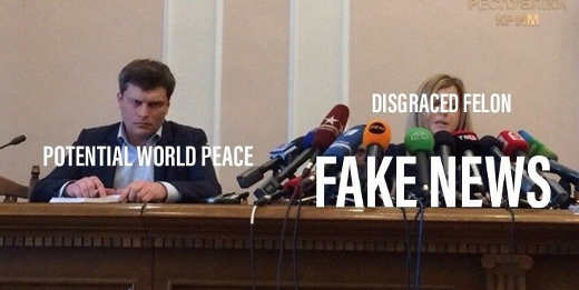 potential world peace media doesnt care disgraced felon all fake news attention