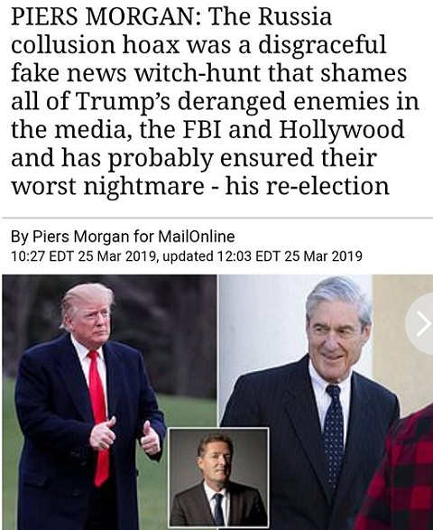 quote piers morgan russian collusion hoax disgraceful witch hunt in history
