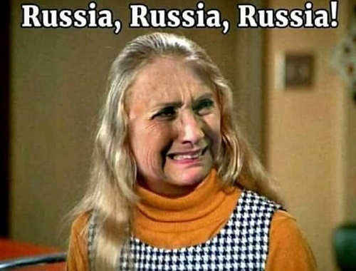 russia russia russia hillary as jan
