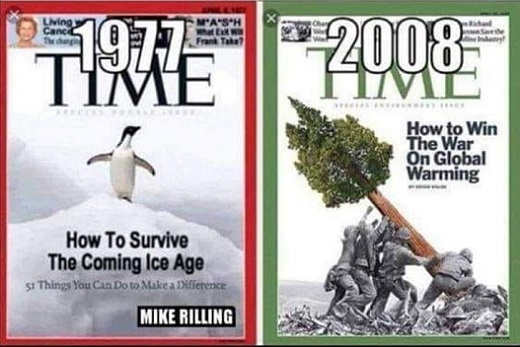 1977 time global cooling 2008 global warming