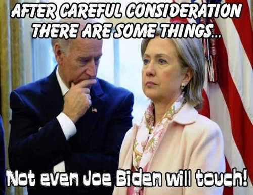 after careful consideration some things not even joe biden will touch hillary clinton
