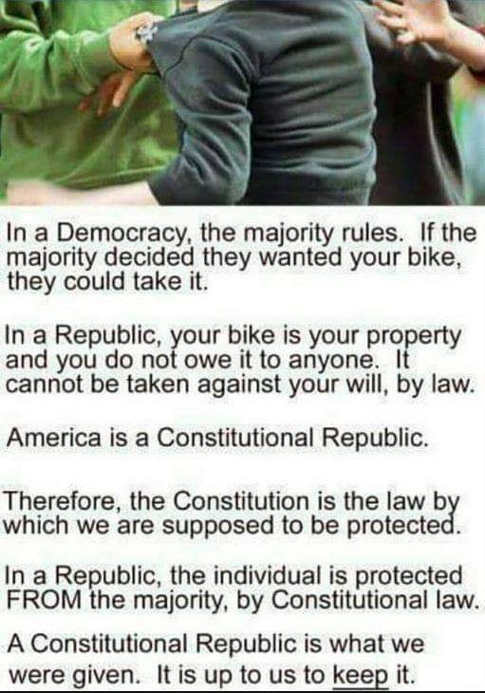 democracy vs republic comparison example