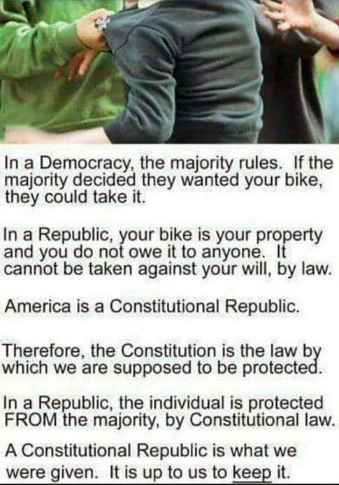democracy vs republic comparison example
