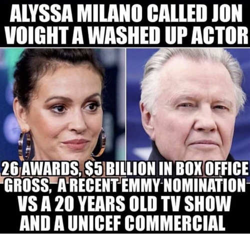 alyssa milano calls jon voight washed up actor 26 awards 5 billion vs 20 year old tv show