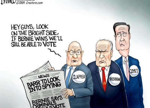 clapper brennan comey if bernie wins well still be able to vote