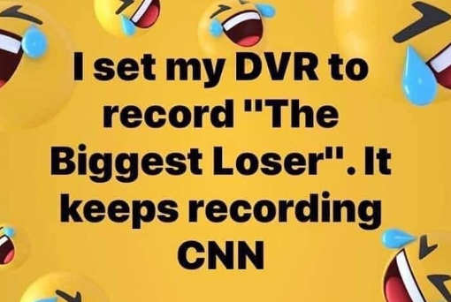 set my dvr to biggest loser kept recording cnn